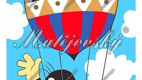 Matějovský osuška Krtek v balonu, 75 x 150 cm