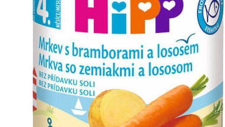 6x HIPP Mrkev s bramborami a lososem (190 g)