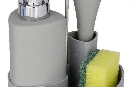 Šedý set na mytí nádobí Wenko Empire, 250 ml