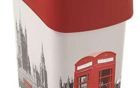 CURVER FLIPBIN LONDÝN 31368 odpadkový koš 25l