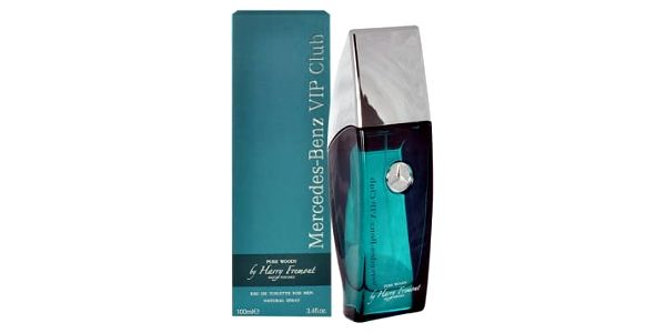 Mercedes-Benz Vip Club Pure Woody by Harry Fremont 100 ml toaletní voda tester pro muže