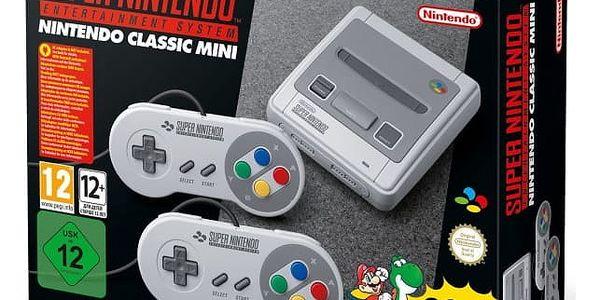 Herní konzole Nintendo Classic Mini: SNES (NICH015)