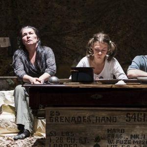 Vstupenka do Malého divadla F. X. Šaldy na hru Válka