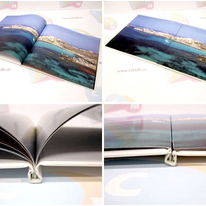 Kvalitní šitá fotokniha, formát A4 na výšku