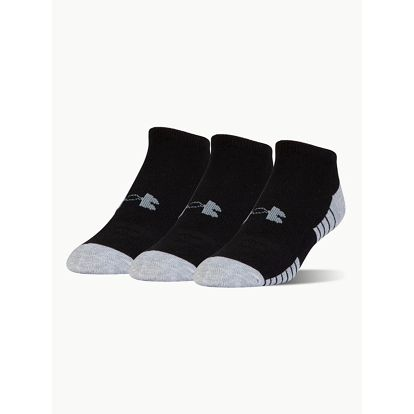Ponožky Under Armour Heatgear Tech Noshow 3 Pack Černá