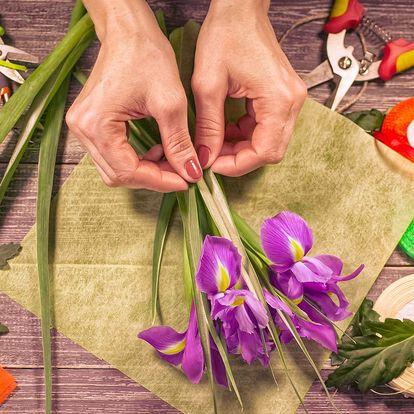 Workshop jarní floristiky v Carmen Flora