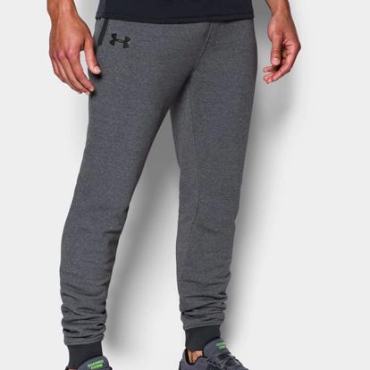 Tepláky Under Armour Threadborne Stacked Jogger Šedá