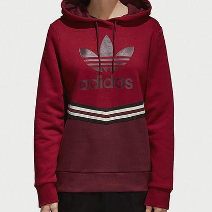Mikina adidas Originals Adibreak Hoodie Červená