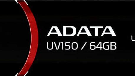 USB Flash ADATA UV150 64GB černý (AUV150-64G-RBK)