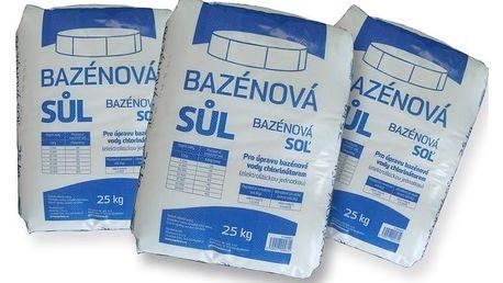 Marimex   Bazénová sůl Marimex - 3 x 25 kg   113060012