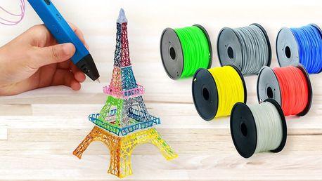 3D pera s displejem i bez a tiskové náplně