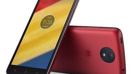 Motorola Moto C Plus Dual SIM (PA800118CZ) červený