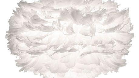 Bílé stínidlo z husího peří VITA Copenhagen EOS, Ø35cm