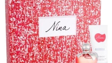 Nina Ricci Nina dárková kazeta pro ženy toaletní voda 50 ml + tělové mléko 75 ml