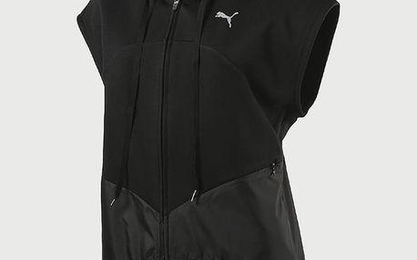 Bunda Puma TRANSITION SL FZ Jacket Černá