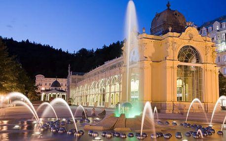 Mariánské Lázně Hotel Goethe na 3-5 dní s polopenzí a wellness