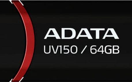 A-Data UV150 64GB (AUV150-64G-RBK) černý