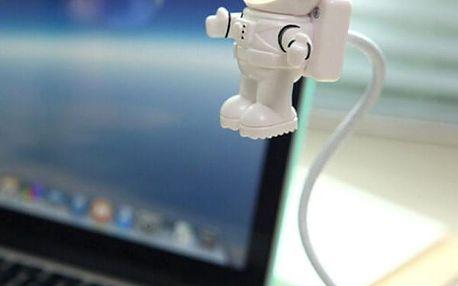 USB LED lampička v podobě kosmonauta