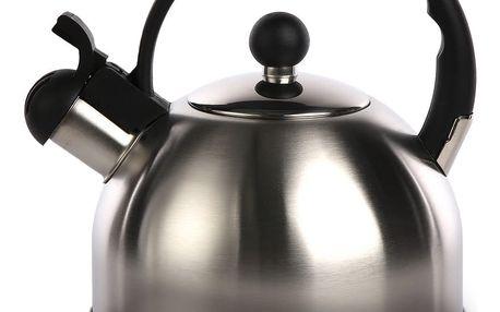 Nerezový čajník Everytime 2 l, černá