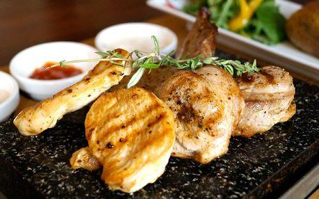 Mlsnej Kocour zve: grilujte maso přímo na stole