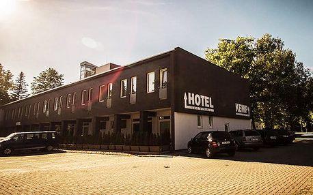 3–4denní wellness pobyt pro 2 s polopenzí v hotelu Sázavský ostrov v Sázavě