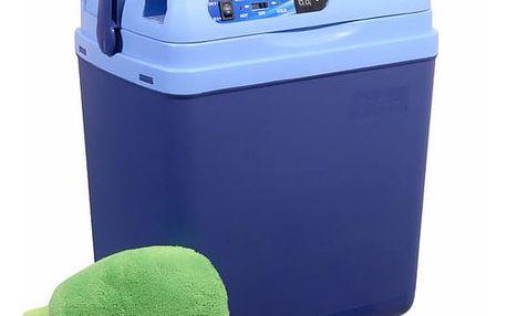 Compass Chladící box 25litrů BLUE 220/12V displej s teplotou