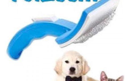 PetZoom samočistící kartáč pro Vaše zvířecí mazlíčky!