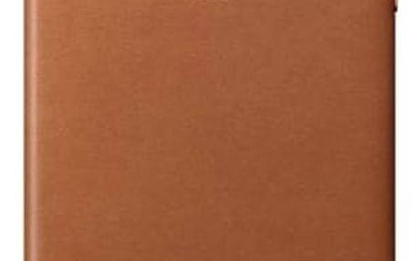Apple Leather Case pro iPhone 8 Plus / 7 Plus - sedlově hnědý (MMYF2ZM/A)