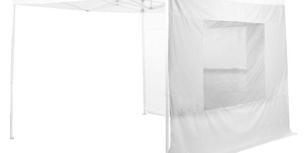 STILISTA 1633 Sada dvou bočních stěn pro zahradní stany , bílá, 3 x 3 m