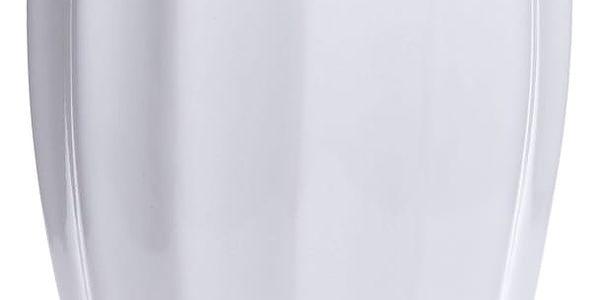 Bílá keramická váza Ewax Monana, výška25cm