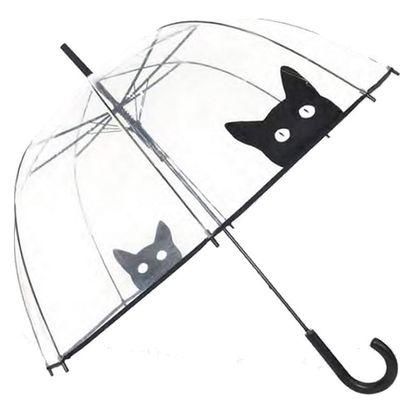 Transparentní deštník Susino Cat