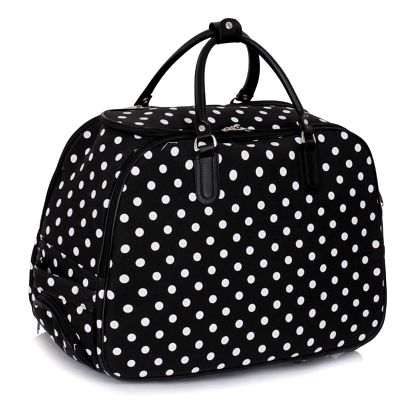Dámská cestovní taška Dot 309 černá