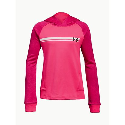 Mikina Under Armour French Terry Hoody Růžová