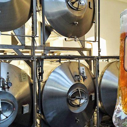 Prohlídka pivovaru Zbraslavice včetně ochutnávky