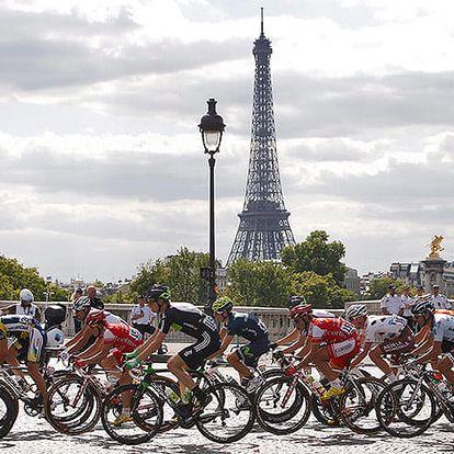 Zájezd na Tour de France v centru Paříže spojený s prohlídkou památek – Eiffelová věž, Notre Dame, Champs Elysées