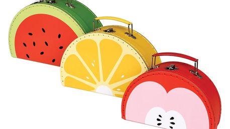 Sada 3 kufříků Rex London Tutti Frutti