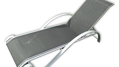 Tradgard ZWC-78 Zahradní lehátko kovové černé