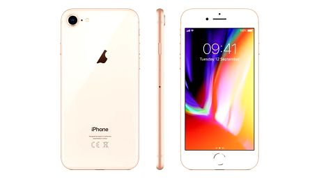 Mobilní telefon Apple iPhone 8 256 GB - Gold (MQ7E2CN/A) + DOPRAVA ZDARMA