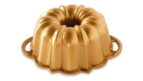 Forma na bábovku ve zlaté barvě Nordic Ware Anniversary, 1,4 l