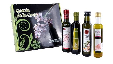 Sada extra panenských olivových olejů, včetně poštovného