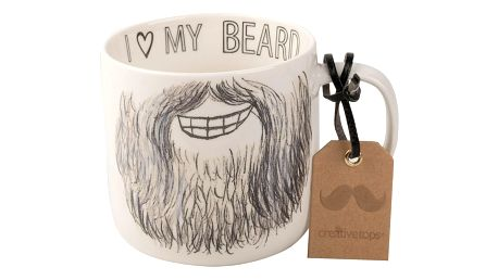 Porcelánový hrnek Creative Tops Core Beard Mug, 450 ml