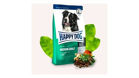 HAPPY DOG MEDIUM Adult 12,5 kg + 2 kg Zdarma
