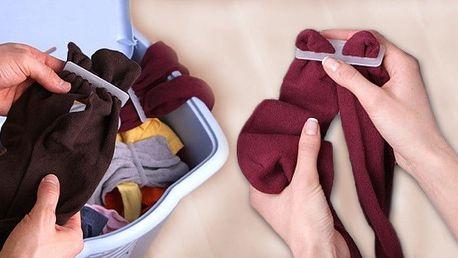 Sponky na párování ponožek do pračky
