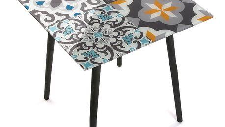 Odkládací stolek VERSA Mykonos, 50 x 50 cm