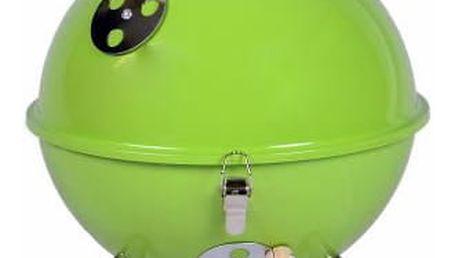 Garthen 698 Zahradní mini gril kulatý zelený