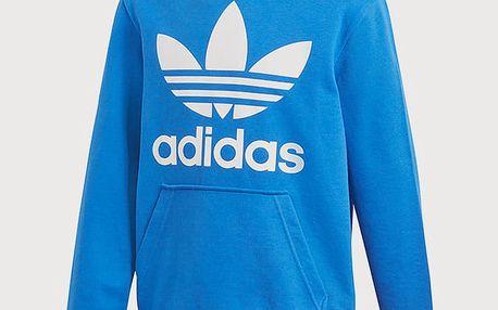 Mikina adidas Originals J Trf Hoodie Modrá