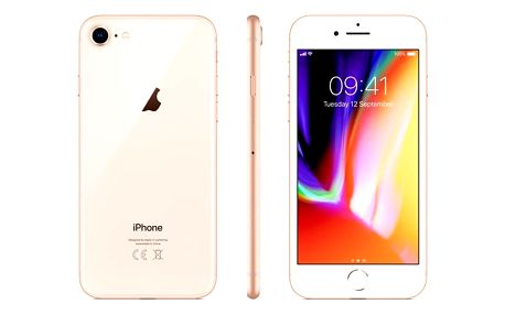 Mobilní telefon Apple iPhone 8 256 GB - Gold (MQ7E2CN/A) Software F-Secure SAFE, 3 zařízení / 6 měsíců v hodnotě 979 Kč + DOPRAVA ZDARMA