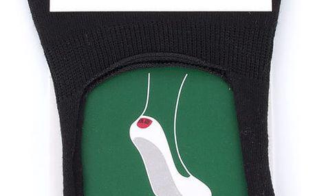 PESAIL Dámské ponožky do balerín ťapky bavlna