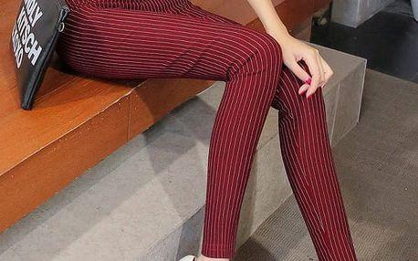 Dámské proužkované kalhoty Asiel