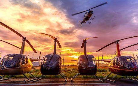 Seznamovací let vrtulníkem pro 1 nebo 3 osoby